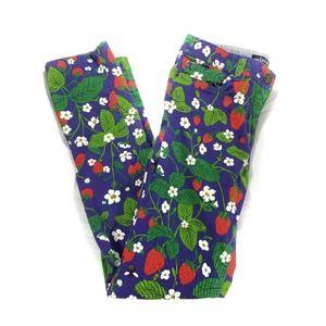 Mini Boden Strawberry Feild Kids Pants 10yo